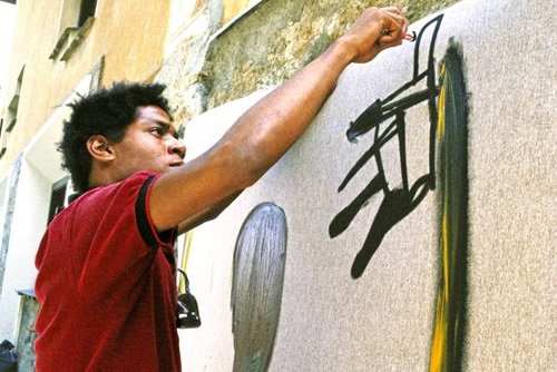 New York City Students Draw on Basquiat for Inspiration