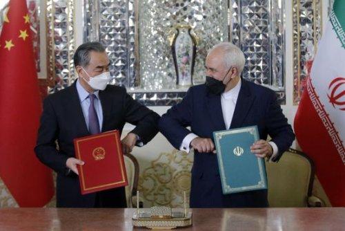 Iran, China Sign Economic, Security Agreement, Challenging U.S. Pressure
