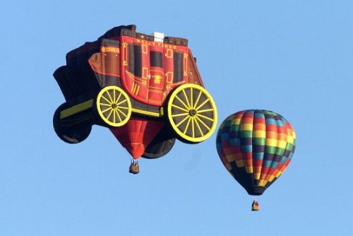 The Great Deflation: Wells Fargo Grounds Its Stagecoach Balloon