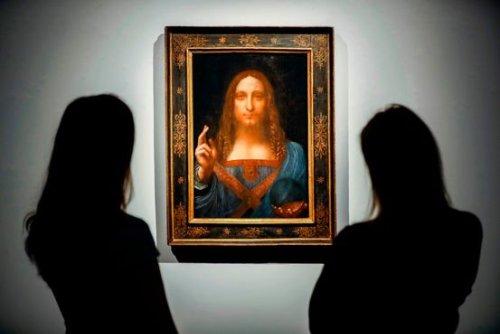 Record-Setting da Vinci Had Hung on Saudi Leader's Yacht