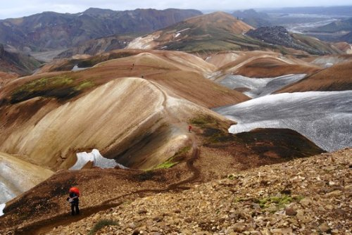Iceland's Laugavegurinn Trail Is Beautiful But Tough