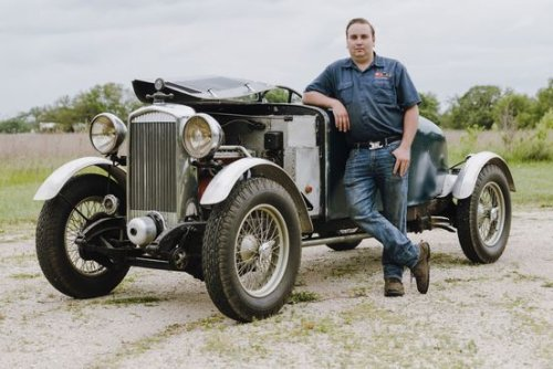 This British Salmson Is Nearly 90, but Still Spry Enough to Race