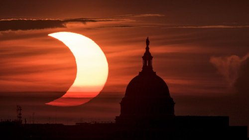 Solar eclipse 2021: 10 stunning photos of the 'ring of fire,' 'crescent sun'