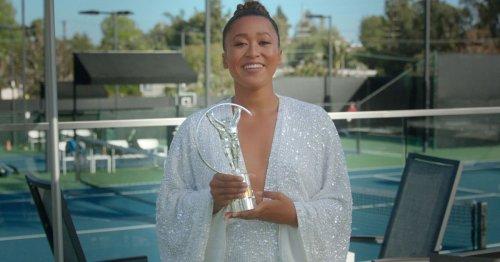 Osaka named Sportswoman of the Year, King honored at Laureus Awards