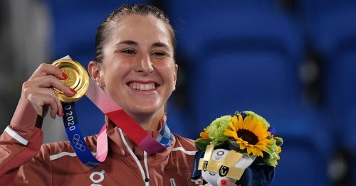 'Biggest thing ever for an athlete': Bencic's golden moment at Tokyo 2020