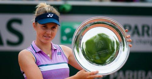 Noskova triumphs in French Open junior singles final