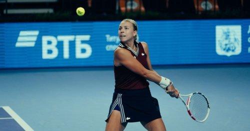 Kontaveit surges into Moscow final over Vondrousova, to meet Alexandrova after Sakkari retires