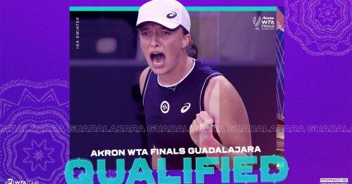 Swiatek, Muguruza and Badosa secure qualification for 2021 Akron WTA Finals Guadalajara