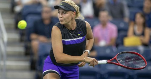 'I don't know how I won' - Vekic saves match point to battle past Goerges in US Open thriller
