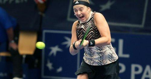 Ostapenko overpowers Samsonova in Luxembourg, to meet Tauson in final