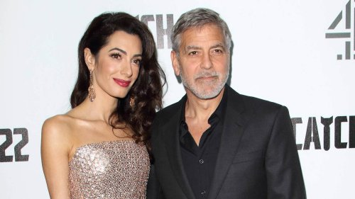 George Clooney & Amal: Baby-Hammer! Es sollen Zwillinge werden