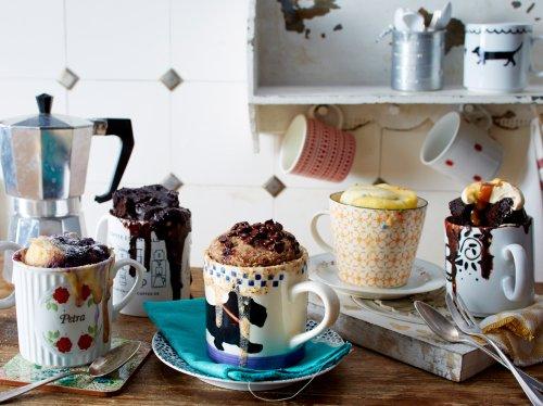 Tassenkuchen: 3 Rezepte für eine süße Pause | Wunderweib