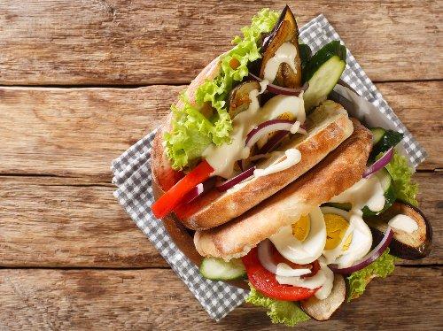 Sabich: Rezept für israelisches Sandwich to go | Wunderweib