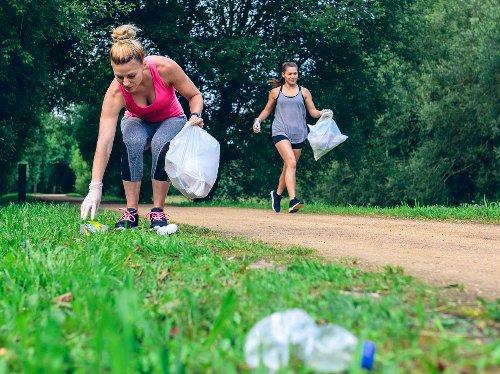 Plogging: Der Fitness-Trend aus Schweden | Wunderweib