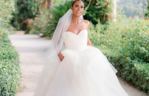 A Closer Look at Issa Rae's Wedding Dress