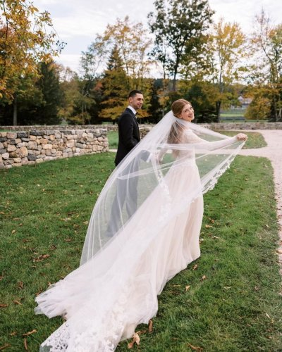 A Closer Look at Jennifer Gates' Wedding Dress