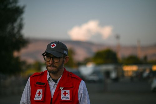 Fleeing the Largest Widfire in the United States, Southern Oregon Residents Take Shelter in the Klamath County Fairgrounds