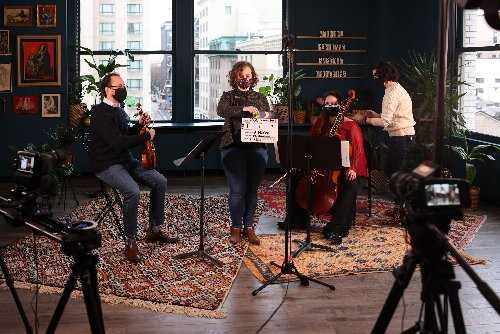 Portland Baroque Orchestra Has Opened a Live Streaming Studio Downtown