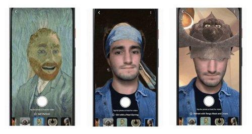 Realidad Aumentada para parecer protagonistas de obras de arte