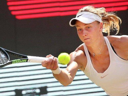 ATP- und WTA-Tour: Tennis: Qualifikantin Samsonowa überrascht in Berlin