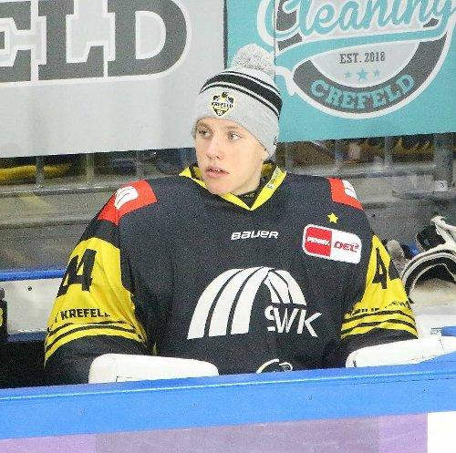 NHL: Krefeld Pinguine: NHL-Scouts haben Nikita Quapp auf dem Zettel
