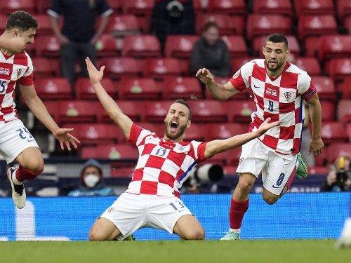 Fußball-EM: Modric führt Kroatien mit Zaubertor ins Achtelfinale