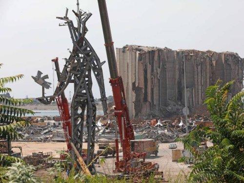 Unglück vor einem Jahr: Beirut: Spuren der Hafen-Explosion noch immer tief