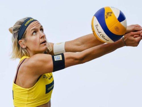 Beachvolleyball-Championat: Beach-Überraschung: Ludwig/Körtzinger im Viertelfinale raus