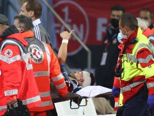 "DFB-Pokal: Krauß gibt nach Kopftreffer Entwarnung: ""Mir geht es gut"""