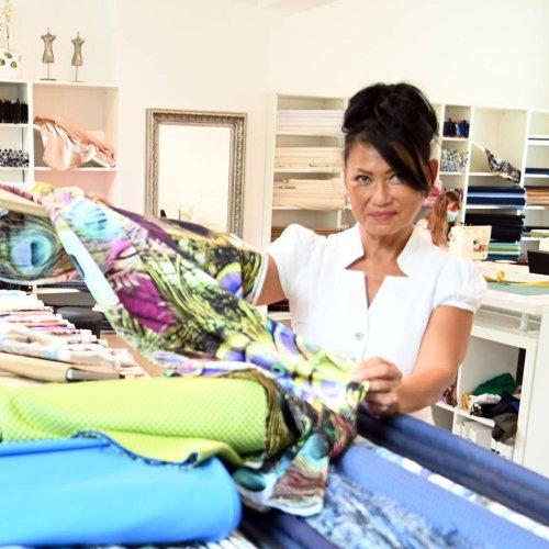 Corona-Krise: Darum gibt Yen Mueller ihr Stoff-Atelier auf