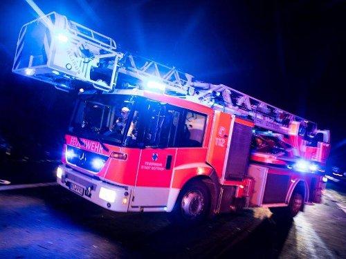 NRW: Drei Verletzte bei Hausbrand in Recklinghausen