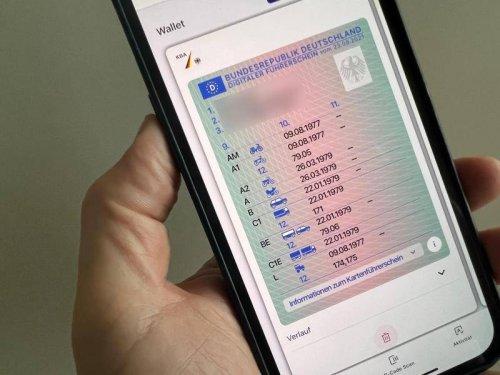 Digitalisierung: Digitaler Führerschein in Deutschland gestartet