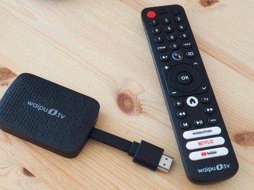 Streaming-Hardware: Waipu.tv-Stick im Test: Das Kabelfernsehen aus dem Internet