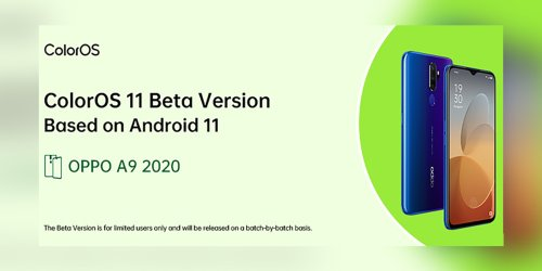 OPPO announces Android 11 betas for OPPO A5 2020 and OPPO A9 2020