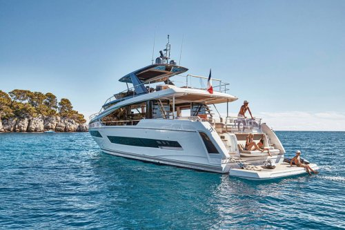 Prestige Yachts X70 Brings a New Look
