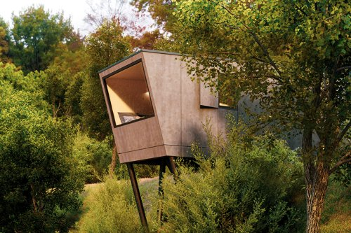 This tiny backyard home/office is a must-have sustainable micro-living investment for 2021!