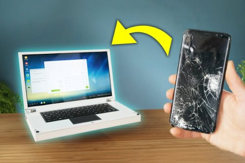 Here's how to turn your old Android smartphone into a fully functional Windows laptop