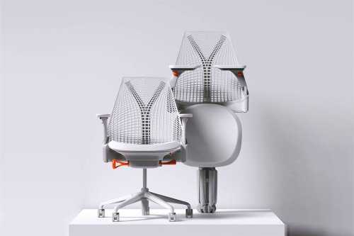 This foldable, space-saving Herman Miller-inspired office chair is the 2021 wfh investment you need!