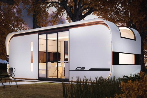 Architecture meets Tesla in these futuristic cabin designs!