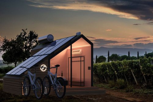 Solar-powered cabins that serve as green homes, and help you live sustainably!