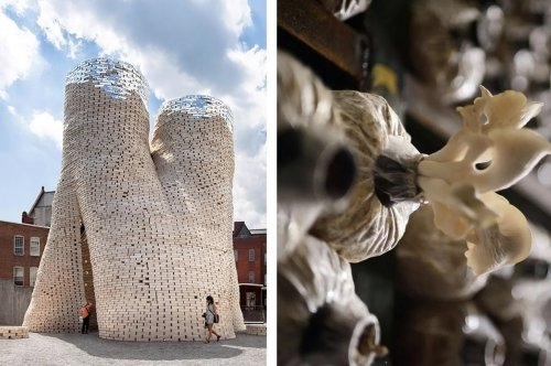 Mushroom-based Designs so sustainable + economical that they'll convert you into Mycelium advocates!