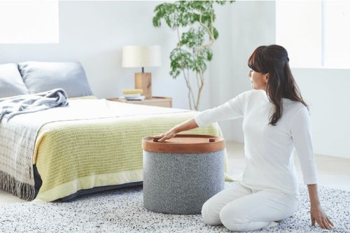 Disguised as furniture, these simple pieces doubles as fitness equipment for working out from home