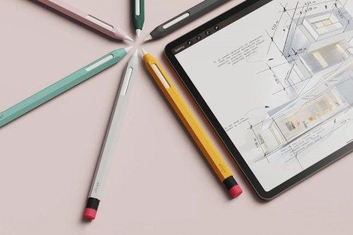 elago's Apple Pencil protective case turns your stylus into a nostalgic rubber-tip graphite pencil