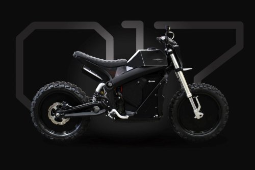 The Droog E-Fighter V2 is like a post-apocalyptic Tesla Cybertruck on two wheels