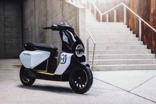 Husqvarna enters the electric scooter category with the heavy-bodied Vektorr concept