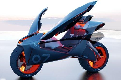 This firefly-inspired Husqvarna bike balances the comfort of car with the thrill of biking!