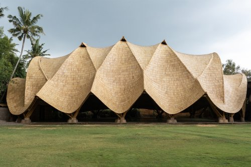This bamboo building in Bali is a marvel born from engineering, sustainability and architecture!