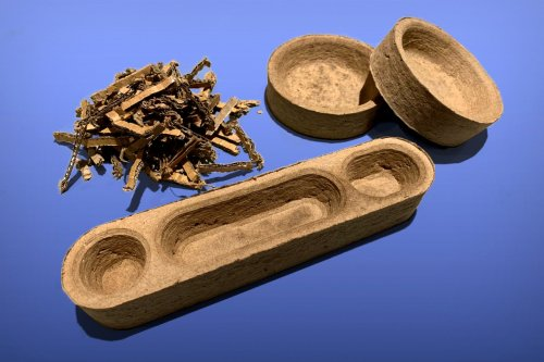 You can easily make your own products out of recycled cardboard too, like the Olympic beds