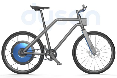 Dyson Urban Bike concept carries the aesthetics + functional approach the brand is known for!