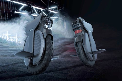 The world's first shock-absorbing unicycle aims at radically reinventing last-mile transportation